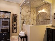 Spa Bath on Pinterest Traditional Bathroom  Powder Rooms and