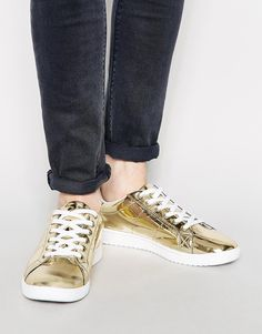 ASOS Sneakers in Metallic