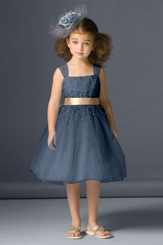 Shop Seahorse Flower Girl Dress - 46231 in Tulle at Weddington Way. Find the perfect made-to-order flower girl dress for the little girl in your wedding. Little Girl Outfits, Little Girl Fashion, Little Girl Dresses, Kids Outfits, Girls Dresses, Flower Girls, Flower Girl Dresses, Fashion Kids, Fashion Shoes