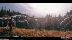 uncharted 4, uncharted, naughty dog, gamedev, game development, game design, envrionment design, environments