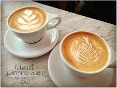 Latte Art Tutorial from cherrycreeknow.com