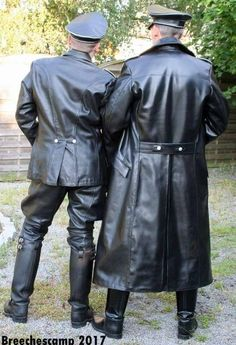 Just a Leather addicted Guy From Germany Mens Leather Coats, Long Leather Coat, Leather Trench Coat, Leather Boots, Leather Jacket, Trench Coats, Men In Uniform, Leather Fashion, Men's Fashion