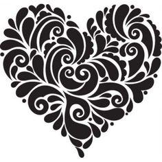 ...heart doodle.. not zen but, inspirational for doodling anyway: