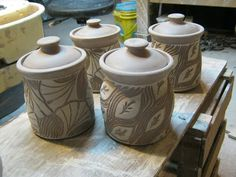 meesh's pottery: Put a lid on it