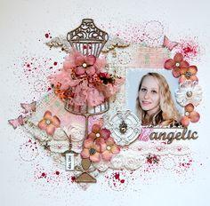 angelic *Dusty Attic* - Scrapbook.com
