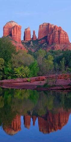 The famous red rocks of Sedona, Arizona.   Go to www.YourTravelVideos.com or just click on photo for home videos and much more on sites like this.