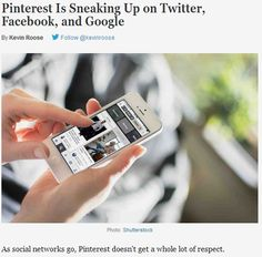 Pinterest Is Sneaking Up on Twitter and Facebook