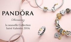 Nouvelle collection Pandora Saint Valentin 2016
