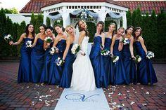 05 Brautjungfernkleider lang elegant Eine blaue Hochzeit – die Farbe der Himmel und des Meers