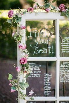 frame wedding decor // bridesofadelaide.com.au