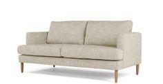 Kotka, canapé 2 places, poudré Hauteur 87 x Largeur 188 x Profondeur 93 cm