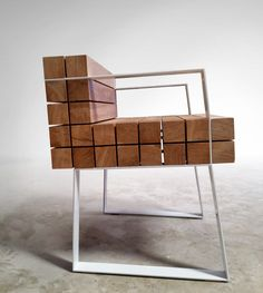 Chaiss petit fauteuil par Sébastien Mazzoni