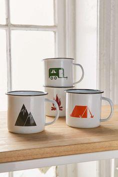 Camping Vibes Mug Set