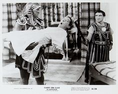 Kenneth Williams and Kenneth Connor in Carry On Cleo. 1964
