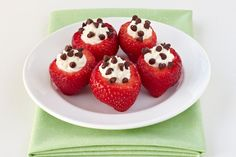 Hungry Girl's Smart Snacks You're Probably Not Eating: Stuffed Strawberries
