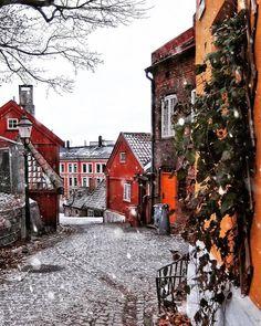 Damstredet, Oslo, Norway.