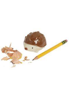 hedgehog pencil sharpener.  No longer available, boo!