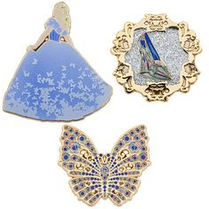 Cinderella Limited Edition Pin Set (of 400 worldwide) - Disney Live Action Film