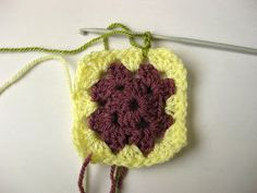 Hello Lovelies,  today I'm posting a tutorial on how I make my granny squares. I'm sure there are many ,many other tutorials and you tube v...