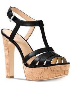 0ac86fc69e60 Michael Kors Catalina Platform Dress Sandals Shoes - Sandals   Flip Flops -  Macy s