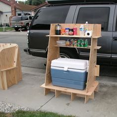 Those of you that went to ID school learned to make things with your hands. For those of you that didn't, or for those of you that did and miss having access to a full shop, this post is about simple furniture that can be easily built--even if you only
