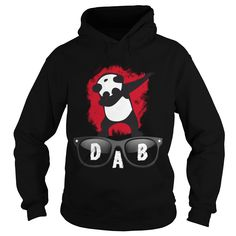 Dab glace PANDA dabbing Animal Dad Mom Lady Man Woman Men Women Girl Boy