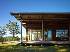 Image 35 of 35 from gallery of Hinterland House / Shaun Lockyer Architects. Photograph by Shaun Lockyer Architects Beautiful Houses Interior, Beautiful Homes, Poll Barn House, Farm House, Food Design, Tiny House, Brisbane Architects, House Cladding, Australian Architecture