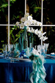 Seaside Elegance Tablescape – shared by Designs by Hemingway