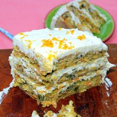 LOADED Caribbean CARROT CAKE with Pineapple Cream Cheese Frosting