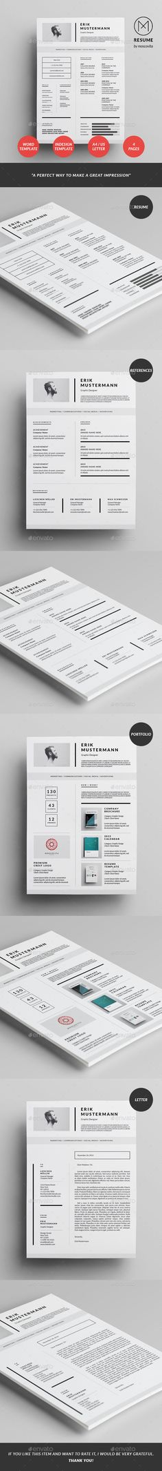 elegant 2 page cv template 2 page resume by chictemplates
