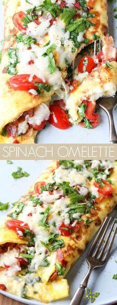 Omlet Recipes Easy omlet recipes easy #omlet #recipes #easy * omlet recipes ; omlet recipes easy ; omlet recipes omelettes ; omlet recipes easy healthy ; omlet recipes videos ; omlet recipes easy video ; omlet recipes easy mornings ; omlet recipes healthy<br> Egg Omelette Recipe, Spinach Omelette, Healthy Omelette, Healthy Omlet Recipes, Egg Recipes, Healthy Food, Breakfast, Salads, Food Recipes