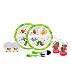 Product: Zak Designs® Very Hungry Caterpillar 8-pc. Kids Dinnerware Set