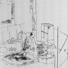 《日本江戶時代的讀書姿勢》意外發現超可愛事實? - 圖片1