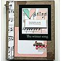 Nouveautés boutique : les papiers de pandore winter song / tampon les ateliers de karine