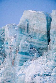 glacier, svalbard, norway