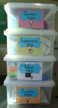 Guided Math Centers
