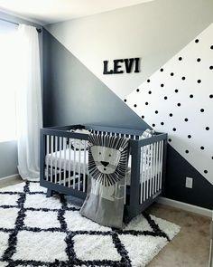 baby boy nursery room ideas 143130094394931421 - evi's Monochrome Zoo Nursery 🦁