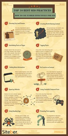 How To Use Tumblr Effectively for SEO #infographic #Tumblr #SEO