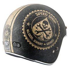Speed and Strength SS600 Open-Face Motorcycle Helmet   Cruiser   Jake Wilson