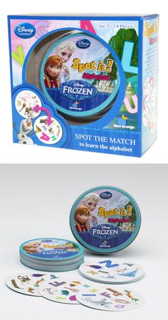We love the game Spot-it. It's so great for road trips or at home and this new Frozen version will make the perfect stocking stuffer!