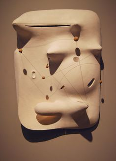 Isamu Noguchi sculpture. Crystal Bridges art museum collection.