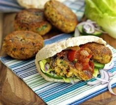 Hummus and falafel - Middle East street food