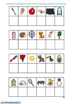 Phonics Worksheets, Kindergarten Worksheets, Preschool Activities, Becoming A Teacher, Kindergarten Teachers, Happy Kids, Kids Education, Early Childhood, Writing