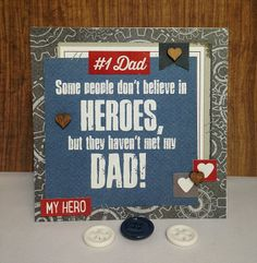 Scrapping with Christine: Father's Day Cards - Hey Pop from Simple Stories
