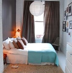 Knowing precisely how much space you have to work with, in every corner of the room, is imperative. Checkout 21 awesome small bedroom ideas.