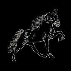 Horse rhinestone transfer-Rhinestone transfers,Custom rhinestone transfers,Rhinestone transfer wholesale largest supplier in china