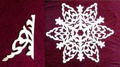26 модела хартиени снежинки