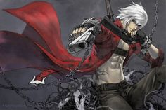 Dante from Devil May Cry 3 in all his awesomeness Bayonetta, Kaito, Dante Anime, Nero Dmc, The Devil Inside, Dante Devil May Cry, Weird Creatures, Daddy Yankee, Video Game Characters