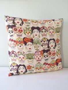 Frida Kahlo mexico artist Pillow / Cushion cover by carouselbelle, $18.00