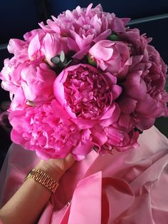 Pink peonies are the most beautiful flowers ever <3 Visit YouQueen.com and check out the secret meanings of flowers